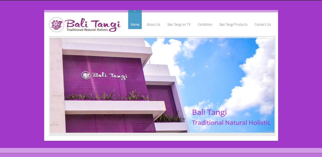 Website Bali Tangi
