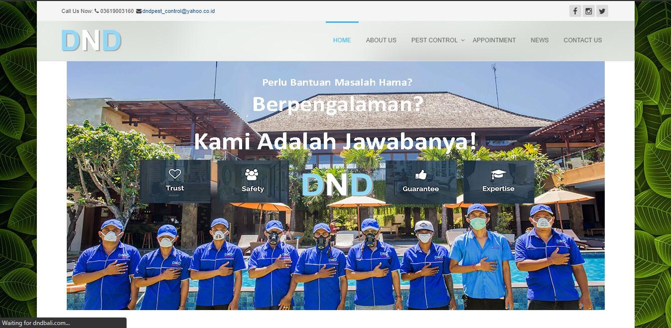 Website DND Bali