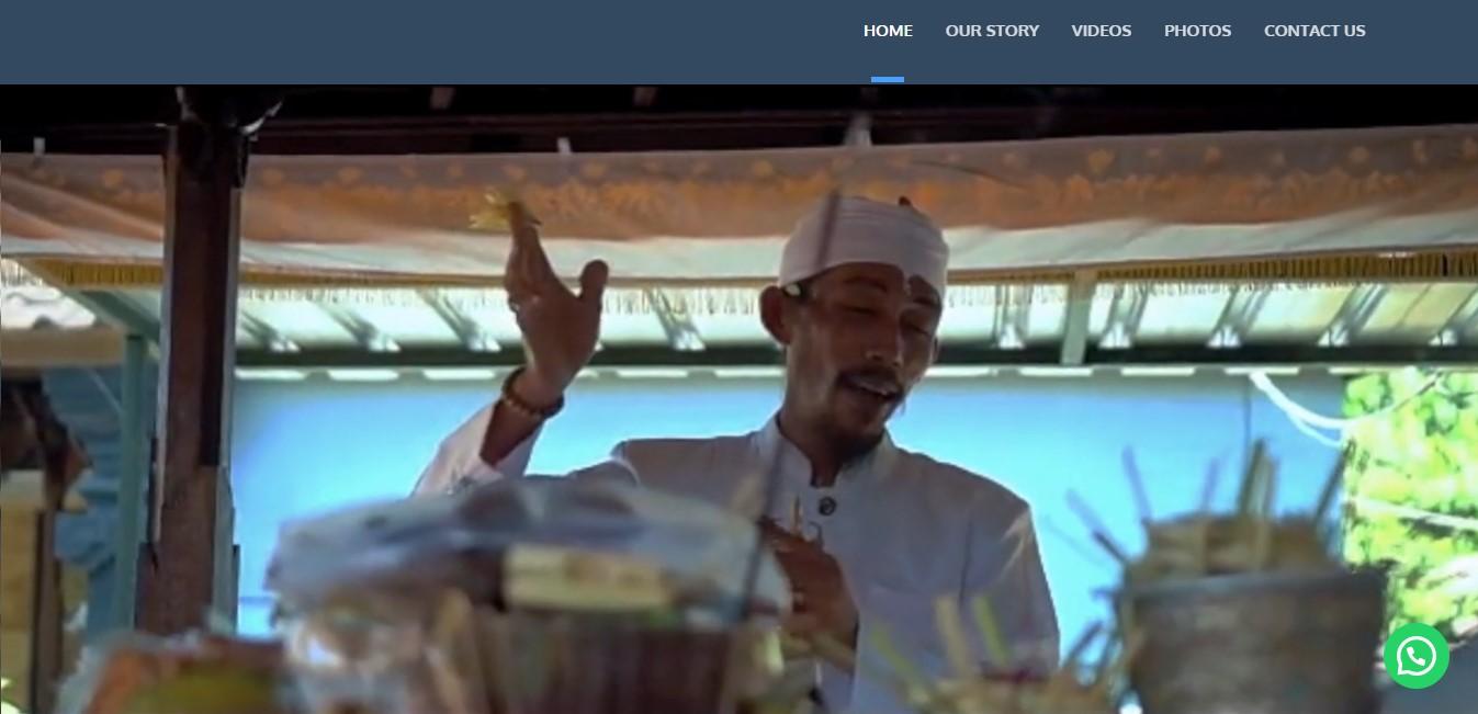 Website Bali Healing Tours